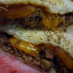 Just like the Food Adventure attendees at Brixx, the Meatloaf sandwich is saucy and sassy