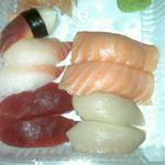 This picture shows Giant Clam, Tuna, Yellowtail, & Snapper.