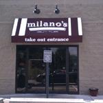 The rear entrance to Milano's on Brown Street in Downtown Dayton.