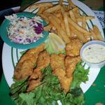 Freshly caught Fish & Chips from Turtle Kraals restaurant in Key West, FL. Submitted by Belinda Bishop