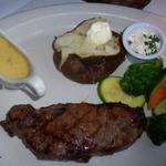New York Strip Steak with Bernaise Sauce from The Commodore in Key West, FL. Submitted by Belinda Bishop