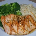 "Citrus Salmon from a restaurant called ""Red Fish Blue Fish"" in Key West, FL. Submitted by Belinda Bishop"