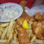 Fish and Chips from Red Fish Blue Fish in Key West, FL. Sumbitted by Belinda Bishop. This is some seriously fresh fish!!