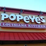 Popeyes Louisiana Kitchen...serving up great chicken since 1972.